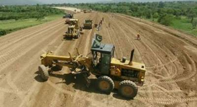 Work on construction of 81km long Swat Motorway in full swing