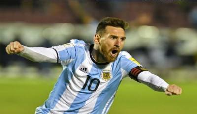 Lionel Messi brilliant hat-trick seals Argentina place in 2018 World Cup
