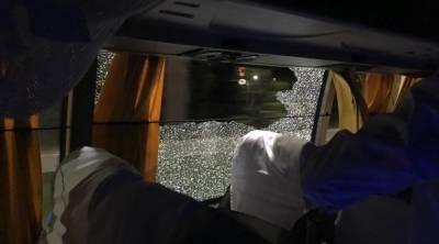 Rock thrown at Australia cricket team bus in India: Finch
