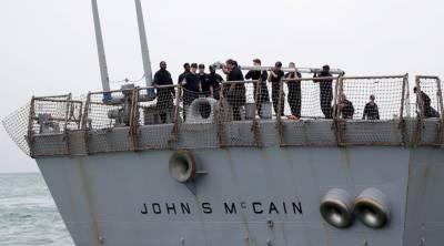 US Navy Warship commander sacked