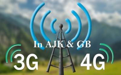 3G - 4G Services in AJK - GB: Dates announced