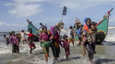 Five dead, dozens missing as Rohingya boat sinks in Bangladesh