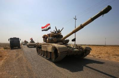 Iraqi forces say in control of roads, infrastructure near Kirkuk