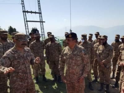 Rawalpindi Corps Commander visits various sectors at LoC