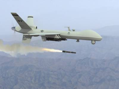 Who was the target of the US drone strike in Kurram Agency