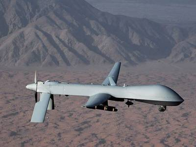 All drone strikes in last 2 days were 300 meters away from Pak border, confirmed sources
