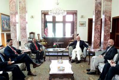 Indian NSA holds important meeting with Afghan Spy Chief, discuss terrorism