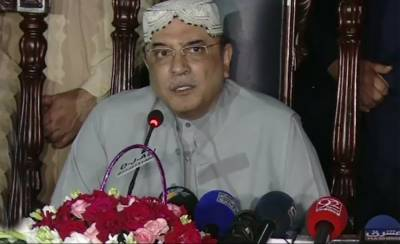 Nawaz Sharif playing a dangerous game: Asif Zardari