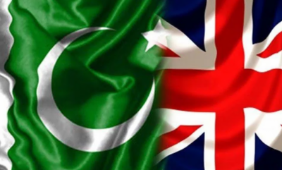Pak-UK: Britain appreciates Pakistan's peace efforts in Afghanistan