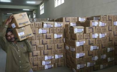 Sufficiant stock of medicines at Govt hospitals
