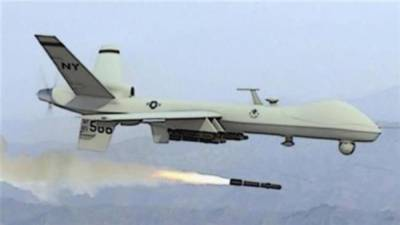 US drone strike hit target in Shpola area of Afghanistan adjacent to Kurram Agency and not in Pakistan