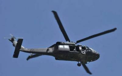 Black Hawk Military Helicopter crashes
