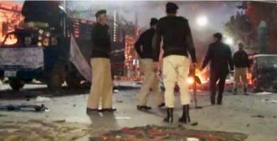 Blast near Sher Qalandar shrine in Ferozwala