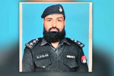 CTD Inspector Abdul Salaam martyred in Quetta