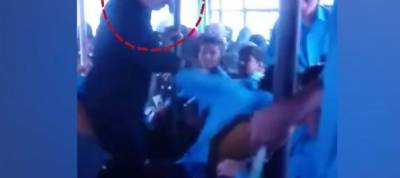 New video emerges of bus conductor torturing dumb children