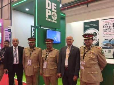 Pakistan participates in Bahrain International Defence exhibition