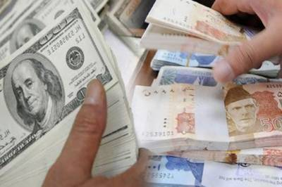 Pakistani Rupee losses against Dollar, Pound