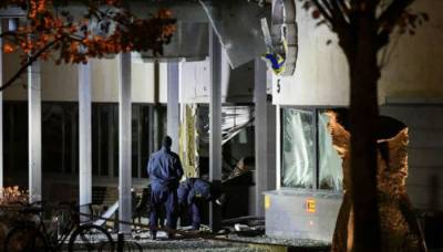 Powerful explosion blow out police station in Sweden