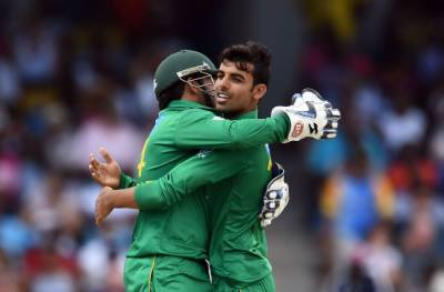 Shadab Khan strikes hard against Sri Lanka