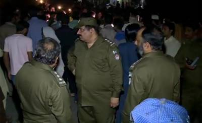 Three hardcore terrorists arrested from Lahore, grenades and explosives recovered