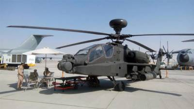 UAE Apache Helicopter crashes, pilots killed