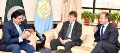 UK special representative on Afghanistan & Pakistan calls on Nasser Janjua