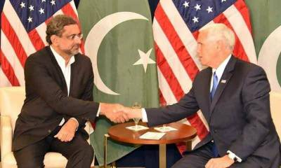 US Vice President Mike Pence holds important discussion with PM Abbasi on telephone
