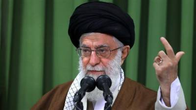 Ayotallah Khamenei threatens to cut Nuclear deal into shreds