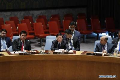 China calls for urgent efforts for political settlement of Palestinian issue