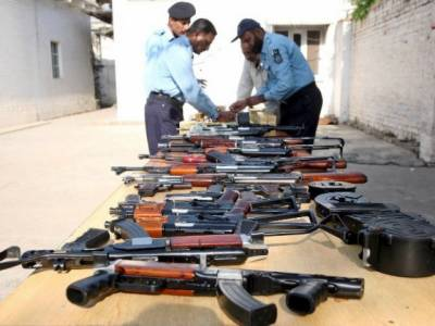 Islamabad police recover weapons cache from capital