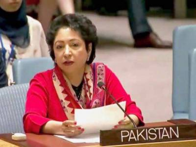 Maleeha Lodhi hits out at India while talking to UNGA President