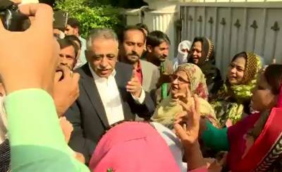 Maryam Nawaz refused entry to Governor Sindh Muhammad Zubair in her house
