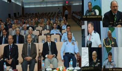 PAF international seminar in Air Headquarters, 18 allied countries Airforce delegates participate