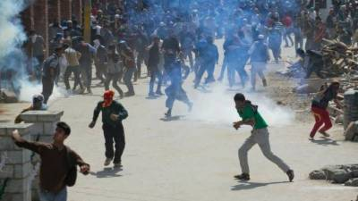 Protests, clashes erupted after new braid chopping incidents in Occupied Kashmir