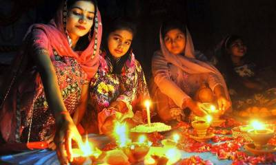Three-day Hindu festival, Diwali, kicks-off in Pakistan