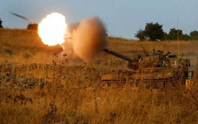 Israeli Army fires mortar shells into Syria