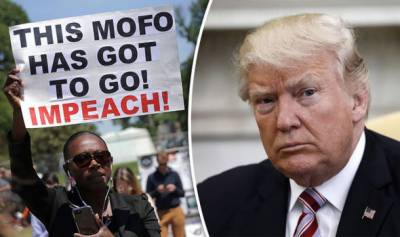Donald Trump impeachment campaign launched in America