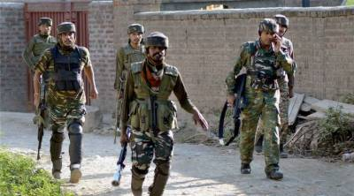 Thousands of Indian Army and Police more soldiers deployed in South Kashmir