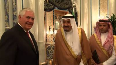 US Saudi Arabia join hands to expel Iran from Gulf