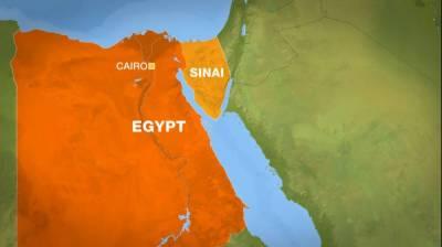Six terrorists killed in Egypt