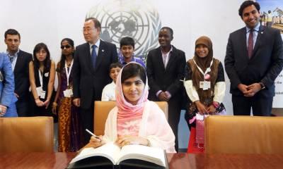 Malala Fund for education: Pakistan contributed $ 10 million