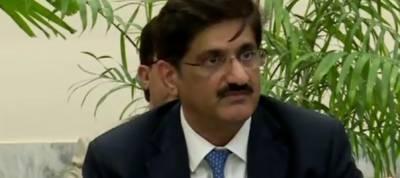 Terrorists entering Sindh from Balochistan: Sindh CM
