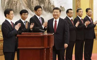 The seven men who will lead China for next 5 years