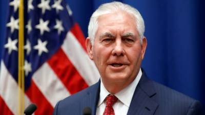 No future for Assad in Syria: Rex Tillerson