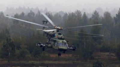 Russian helicopter crashes at sea in Arctic, 8 aboard: Norway