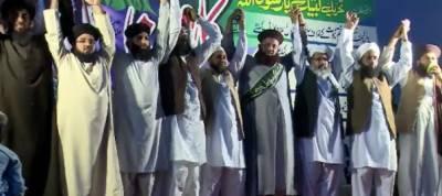 Tehreek Labaik Ya Rasool Allah (SAW) continue to stage sit-in at D Chowk