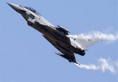 Yemeni Air Defence shot down Saudi Royal Airforce Typhoon fighter jet