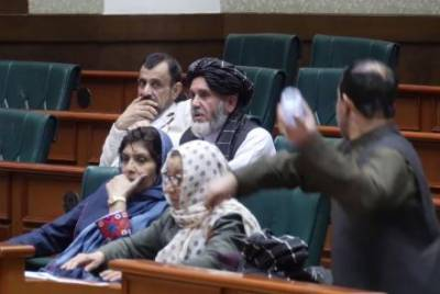 Afghan Senators beat each other during Senate session