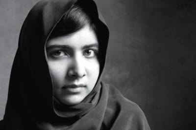 Malala Yousafzai stands with Ahmed Noorani's cause