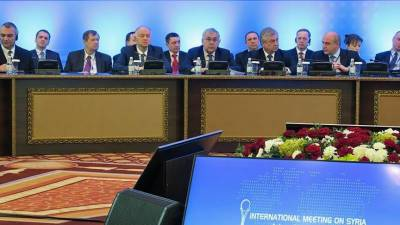 7th round of Syria peace talks begins at Astana on Monday